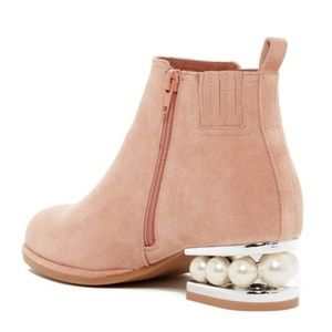 Jeffrey Campbell Shoes - Jeffrey Campbell Orlando Suede Pearl Boots Booties